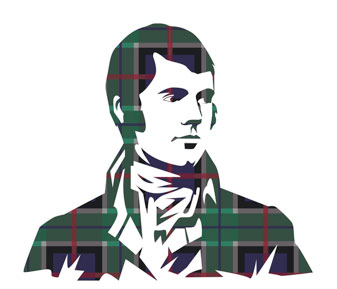 Robert Burns Supper Graphic
