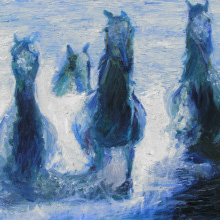 Debra Hope Colligan Healing Horses