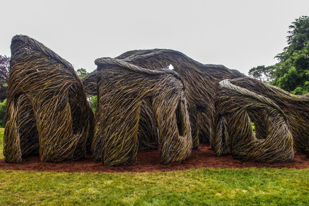 Stickwork Sculptor Patrick Dougherty