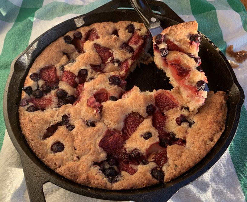 Simple Fresh Fruit Cake