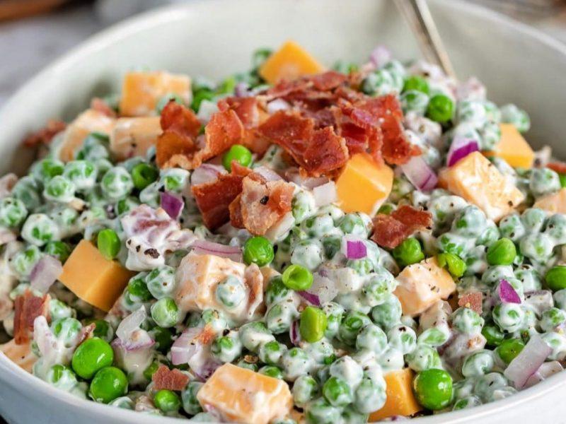 The Best Pea Salad