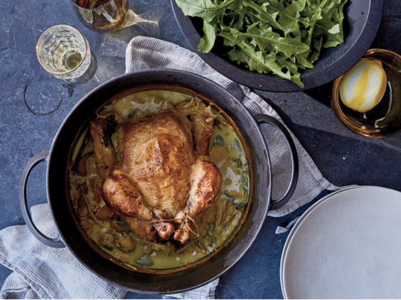 Jamie Oliver's Famous and Fabulous Milk Chicken