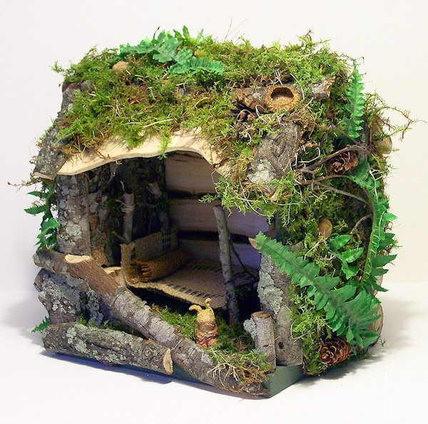 fairy houses and woodland cottages with sally egan highfield hall and gardens. Black Bedroom Furniture Sets. Home Design Ideas