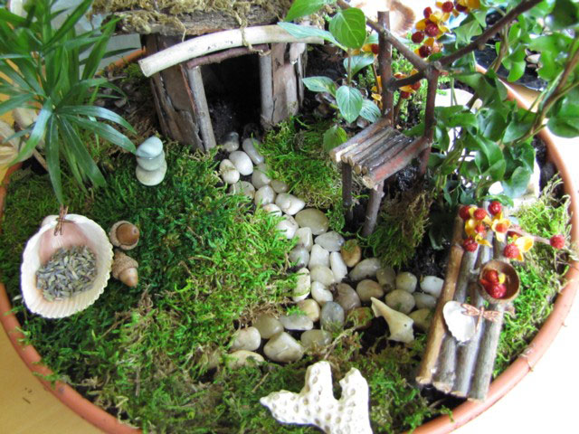 Fairy Garden For Children And Caregiver
